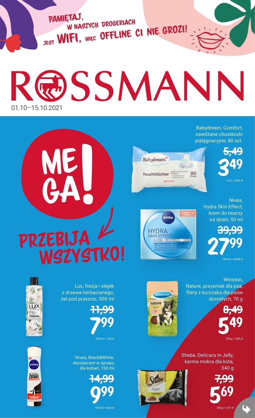 Gazetka promocyjna Rossmann - ważna od 01. 10. 2021 do 15. 10. 2021