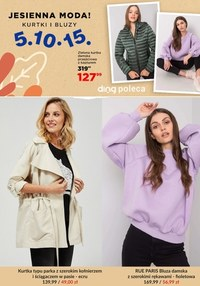 Gazetka promocyjna 5.10.15 - 5.10.15. - jesienna moda - ważna do 22-10-2021