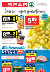 Gazetka promocyjna SPAR - SPAR - mistrzowskie super ceny! - ważna do 05-10-2021
