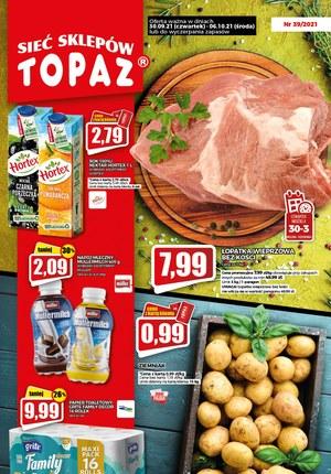 Gazetka promocyjna Topaz - Topaz - nowa gazetka