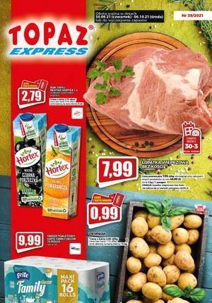 Gazetka promocyjna Topaz - Okazje cenowe w Topaz Express!