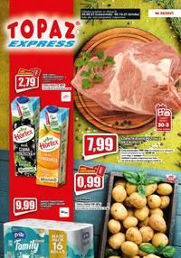 Gazetka promocyjna Topaz - Okazje cenowe w Topaz Express! - ważna do 06-10-2021