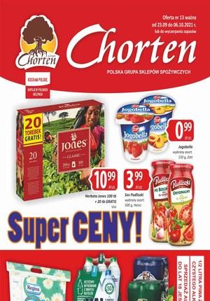 Gazetka promocyjna Chorten - Chorten - super ceny!