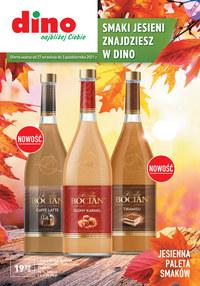 Gazetka promocyjna Dino - Dino - smaki jesieni - ważna do 03-10-2021