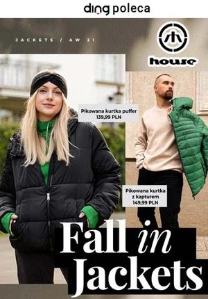 Gazetka promocyjna House - House - oferta z kurtkami na jesień!