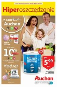 Auchan hipermarket - wielki zysk z kartą skarbonka