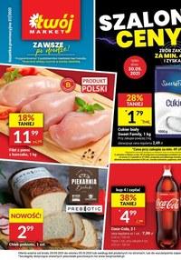 Gazetka promocyjna Twój Market - Szalone ceny - Twój Market  - ważna do 05-10-2021