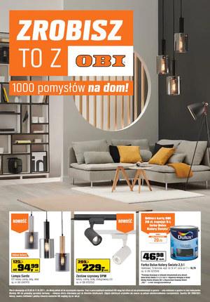 Gazetka promocyjna OBI - 100 pomysłów na dom w OBI
