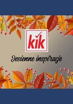 Dekoracje na jesień w KIK