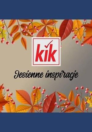 Gazetka promocyjna KIK - Dekoracje na jesień w KIK