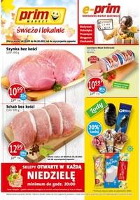 Gazetka promocyjna Prim Market - Hity tygodnia w Prim Market - ważna do 06-10-2021