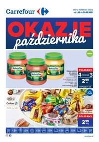 Gazetka promocyjna Carrefour - Okazje października - Carrefour - ważna do 30-10-2021
