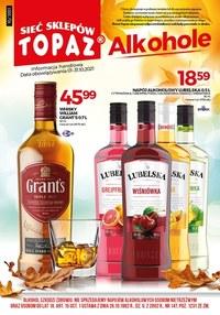 Gazetka promocyjna Topaz - Topaz - oferta z alkoholem - ważna do 31-10-2021