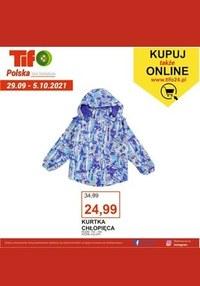 Gazetka promocyjna Tifo - Moda z Tifo  - ważna do 05-10-2021