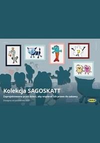 Gazetka promocyjna IKEA - Kolekcja SAGOSKATT w IKEA - ważna do 27-10-2021