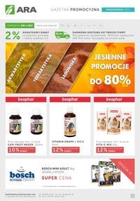 Gazetka promocyjna Ara - Ara - jesienne promocje do 80%