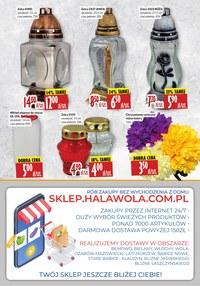 Gazetka promocyjna Hala Wola - Hala Wola - więcej znaczy taniej