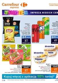 Gazetka promocyjna Carrefour Express - Carrefour Express - impreza niskich cen - ważna do 11-10-2021