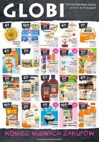 Gazetka promocyjna Globi - Koniec nudnych zakupów - Globi - ważna do 11-10-2021