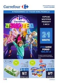 Gazetka promocyjna Carrefour - Zyskoteka w Carrefour - ważna do 09-10-2021