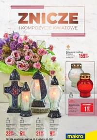 Gazetka promocyjna Makro Cash&Carry - Makro - znicze i kompozycje kwiatowe - ważna do 18-10-2021