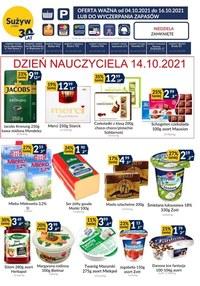 Gazetka promocyjna Sużyw - Sużyw - nowa oferta handlowa - ważna do 16-10-2021