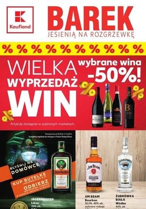 Gazetka promocyjna Kaufland - Kaufland - wielka wyprzedaż win