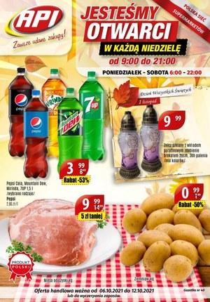 Gazetka promocyjna Api Market - Api market otwarty w każdą niedziele!