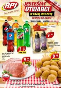Gazetka promocyjna Api Market - Api market otwarty w każdą niedziele!  - ważna do 12-10-2021
