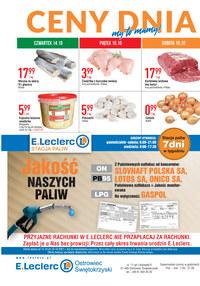 Gazetka promocyjna E.Leclerc - E.Leclerc - Ostrowiec Świętokrzyski