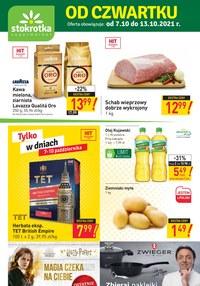 Gazetka promocyjna Stokrotka Supermarket - Od czwartku w Stokrotce!   - ważna do 13-10-2021
