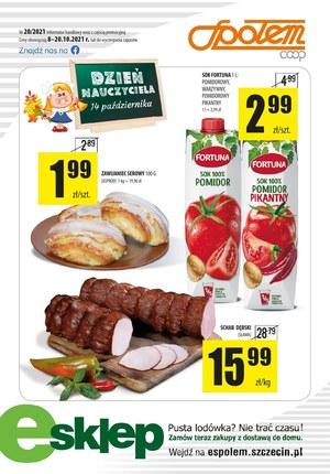 Gazetka promocyjna PSS Społem Szczecin - E-zakupy w PSS Społem Szczecin