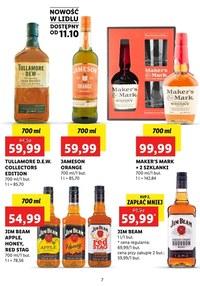Gazetka promocyjna Lidl - Alkohole mocne w Lidlu