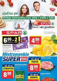 Gazetka promocyjna SPAR - Spar - klient nasz Pan - ważna do 16-10-2021