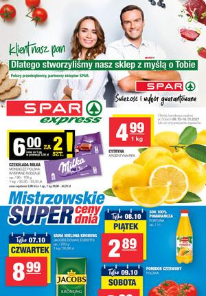 Gazetka promocyjna SPAR Express - Spar Express - świeżość i duży wybór