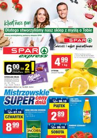 Gazetka promocyjna SPAR Express - Spar Express - świeżość i duży wybór - ważna do 16-10-2021