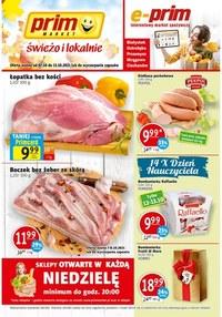 Gazetka promocyjna Prim Market - Świeżo i lokalnie - Prim Market - ważna do 13-10-2021