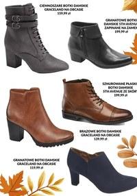 Gazetka promocyjna Deichmann - Deichmann - jesienne promocje na buty
