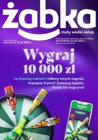 Gazetka promocyjna Żabka - Wygrywaj razem z Żabką - ważna do 12-10-2021