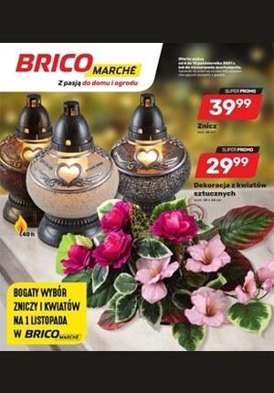 Gazetka promocyjna Bricomarche - Bogaty wybór zniczy i kwiatów w Bricomarche