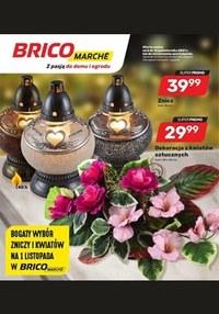 Gazetka promocyjna Bricomarche - Bogaty wybór zniczy i kwiatów w Bricomarche  - ważna do 16-10-2021
