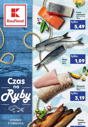 Gazetka promocyjna Kaufland - Czas na ryby w Kaufland