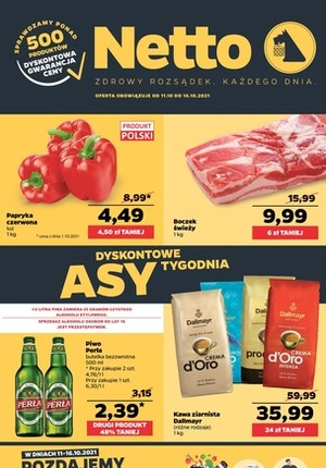 Gazetka promocyjna Netto - Asy dnia w Netto