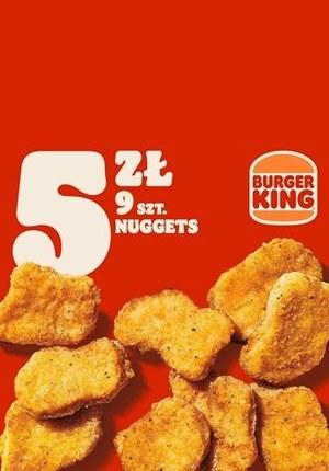 Gazetka promocyjna Burger King - Nuggetsy znów tanio w Burger King!
