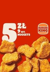 Gazetka promocyjna Burger King - Nuggetsy znów tanio w Burger King!  - ważna do 31-10-2021