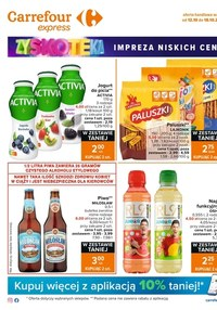 Gazetka promocyjna Carrefour Express - Impreza niskich cen w Carrefour Express