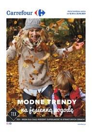 Carrefour - modne trendy na jesień
