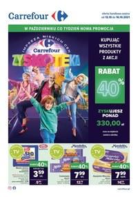 Gazetka promocyjna Carrefour - Carrefour - Zyskoteka! - ważna do 16-10-2021