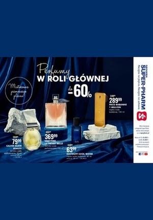 Gazetka promocyjna Super-Pharm - Super-Pharm - perfumy do -60% taniej!