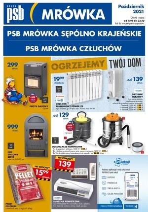 Gazetka promocyjna PSB Mrówka - PSB Mrówka - Człuchów, Sępólno Krajeńskie